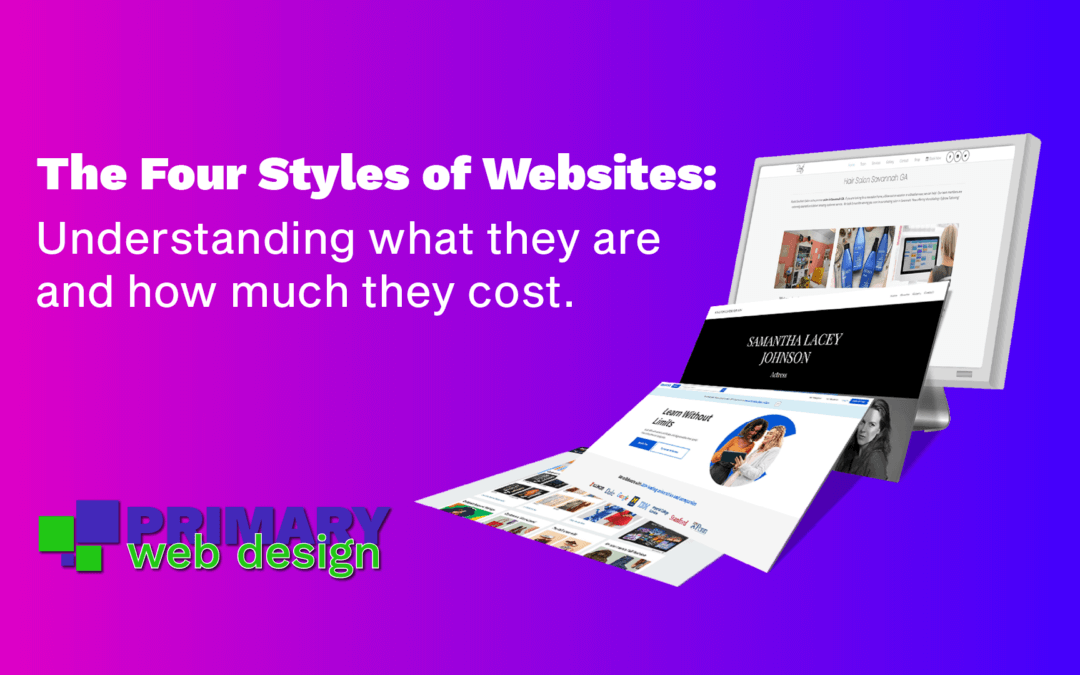 The Four Styles of Websites