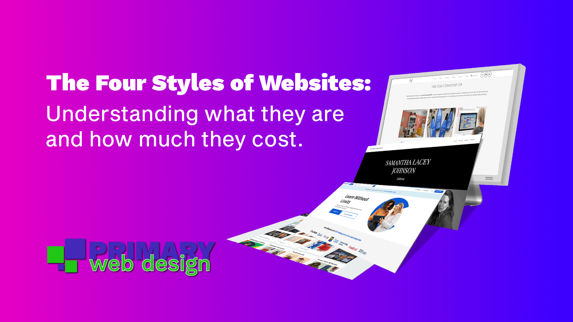The Four Styles of Websites Feature Image